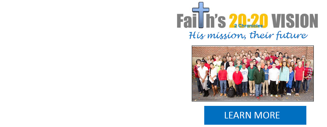 Faith's 20:20 Vision