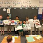 Our third grade were really proud to show off their natural resources poster projects