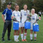 Girls soccer Honor the Seniors game