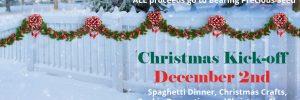 Christmas Kick-Off & Spaghetti Dinner
