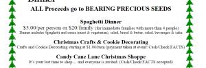Christmas Kick-Off Spaghetti Dinner