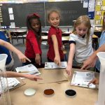 2nd Grade using Scientific Inquiry Steps to test the viscosity of certain liquids