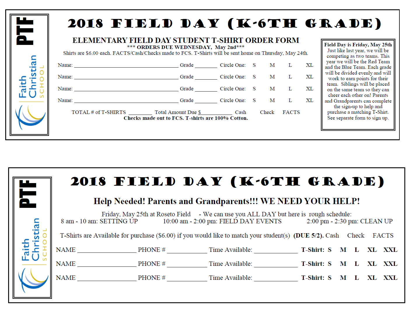 Field Day T-Shirt Order and Volunteer Forms on t shirt quote form, book order form, shirt apparel order form, polo shirt order form, poster order form, belt order form, logo order form, clothing order form, jacket order form, toy order form, work shirt order form, shirt size form, sweater order form, camera order form, design order form, green order form, uniform shirt order form, hooded sweatshirt order form, employee uniform request form, gift order form,