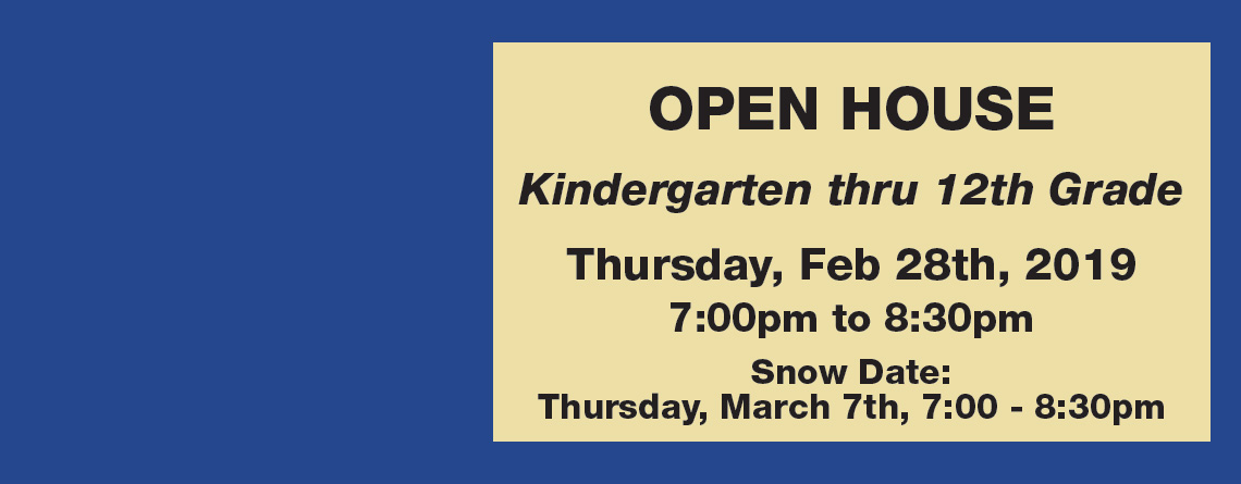 Open House – February 28th, 2019